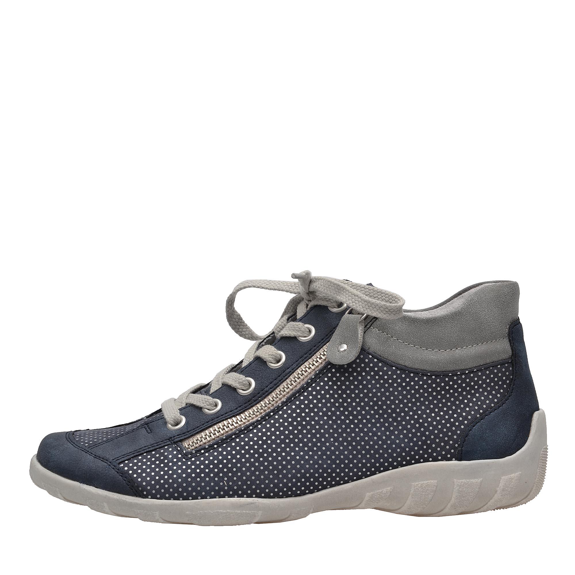0c4e01e03755 detail Dámska obuv RIEKER - REMONTE br R3487 14 BLAU KOMBI F