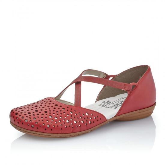 detail Dámska obuv RIEKER br 53955-34 ROT F S 9 9e1e8ed1d47