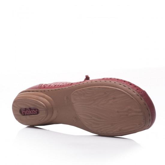 detail Dámska obuv RIEKER 53975-33 ROT F S 9 87364efd113