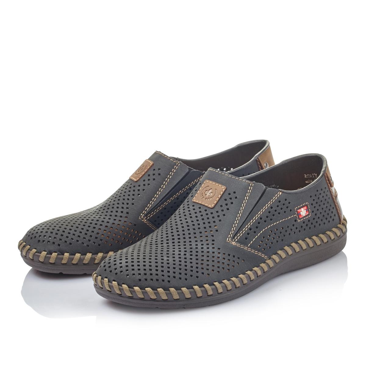 detail Pánska obuv RIEKER br B2455-14 BLAU ... fa6dcecd165