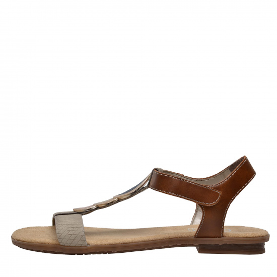 detail Dámska obuv RIEKER br 64278 60 BEIGE KOMBI ... 311958c3fe1