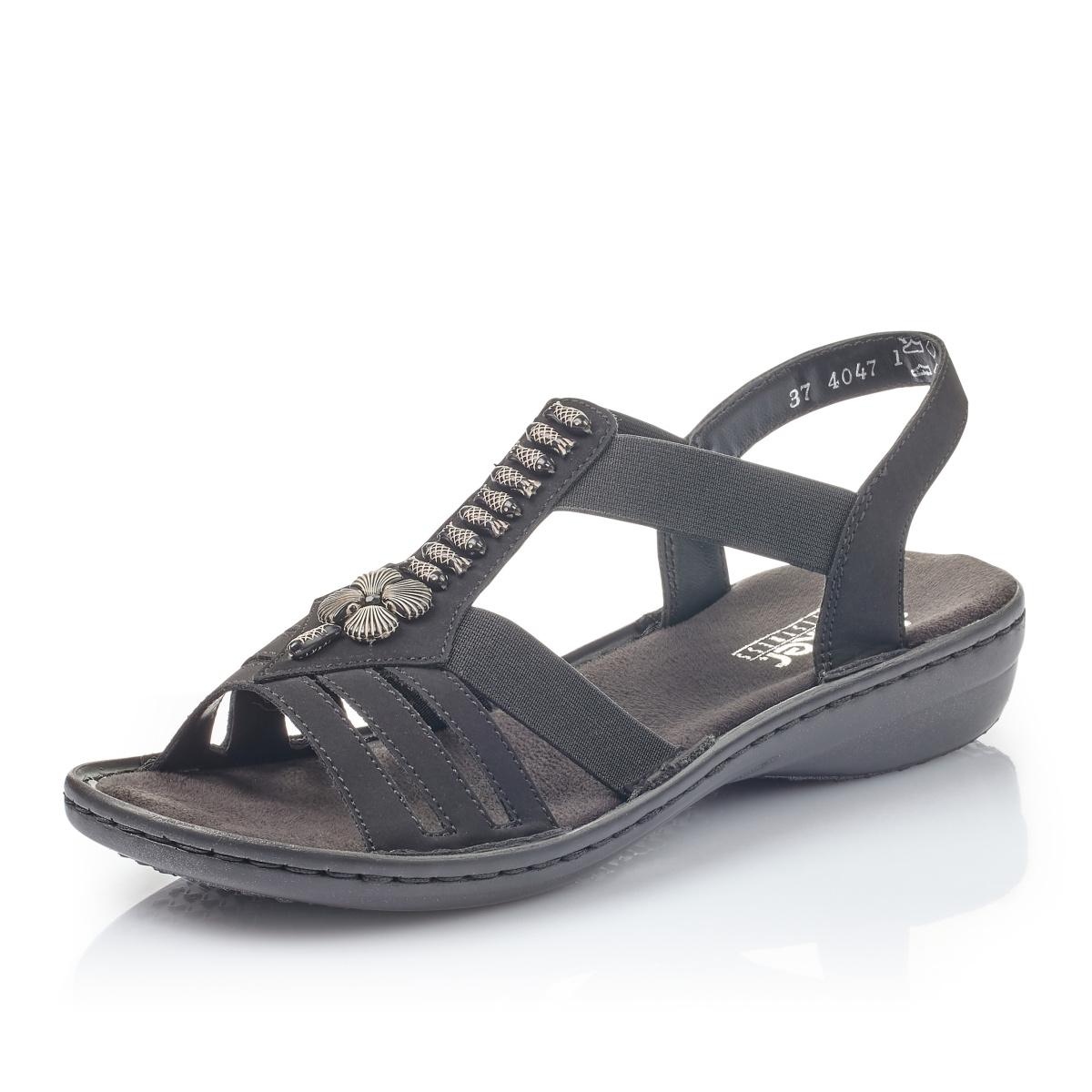 e265622e2d8a detail Dámska obuv RIEKER br 60806-00 SCHWARZ ...