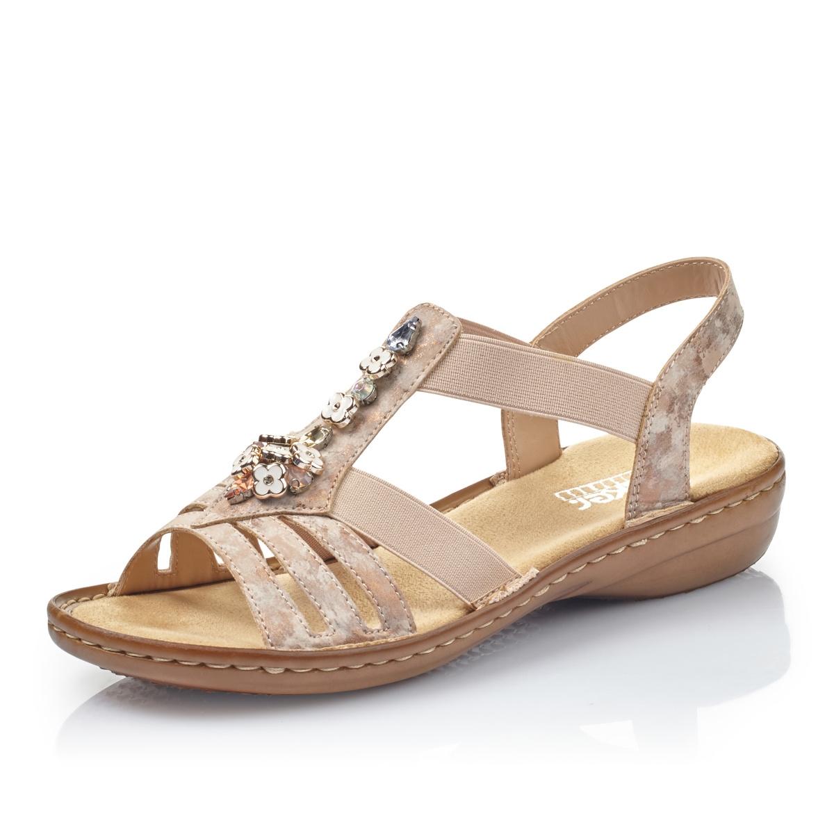 ddc4fe685d18 detail Dámska obuv RIEKER br 60855-31 ROSA ...