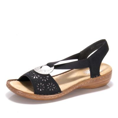 14c414a07f57 Dámska obuv RIEKERV22G1-00 SCHWARZ F S 9