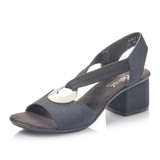 f85c6c853af8 detail Dámska obuv RIEKER br 64673-14 BLAU KOMBI ...