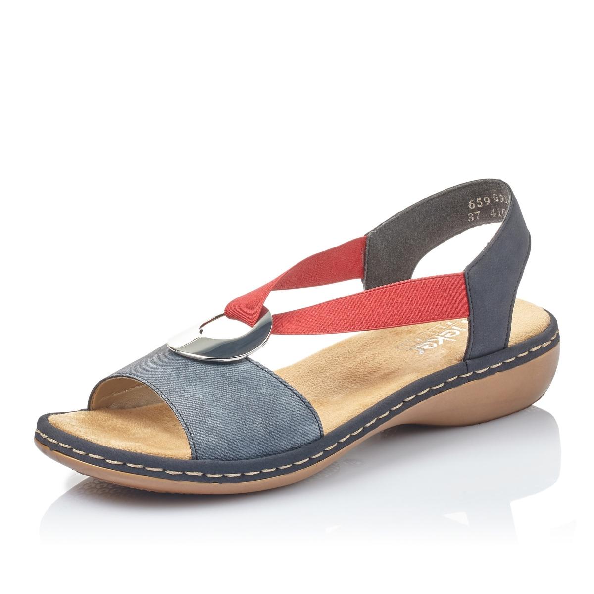 d0a07b11180b detail Dámska obuv RIEKER br 659Q9-14 BLAU KOMBI ...