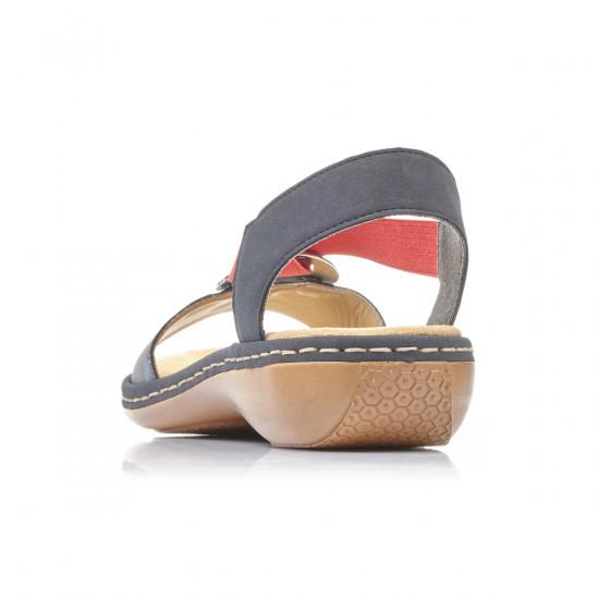 detail Dámska obuv RIEKER br 659Q9-14 BLAU KOMBI F S 9 e2b3d82375