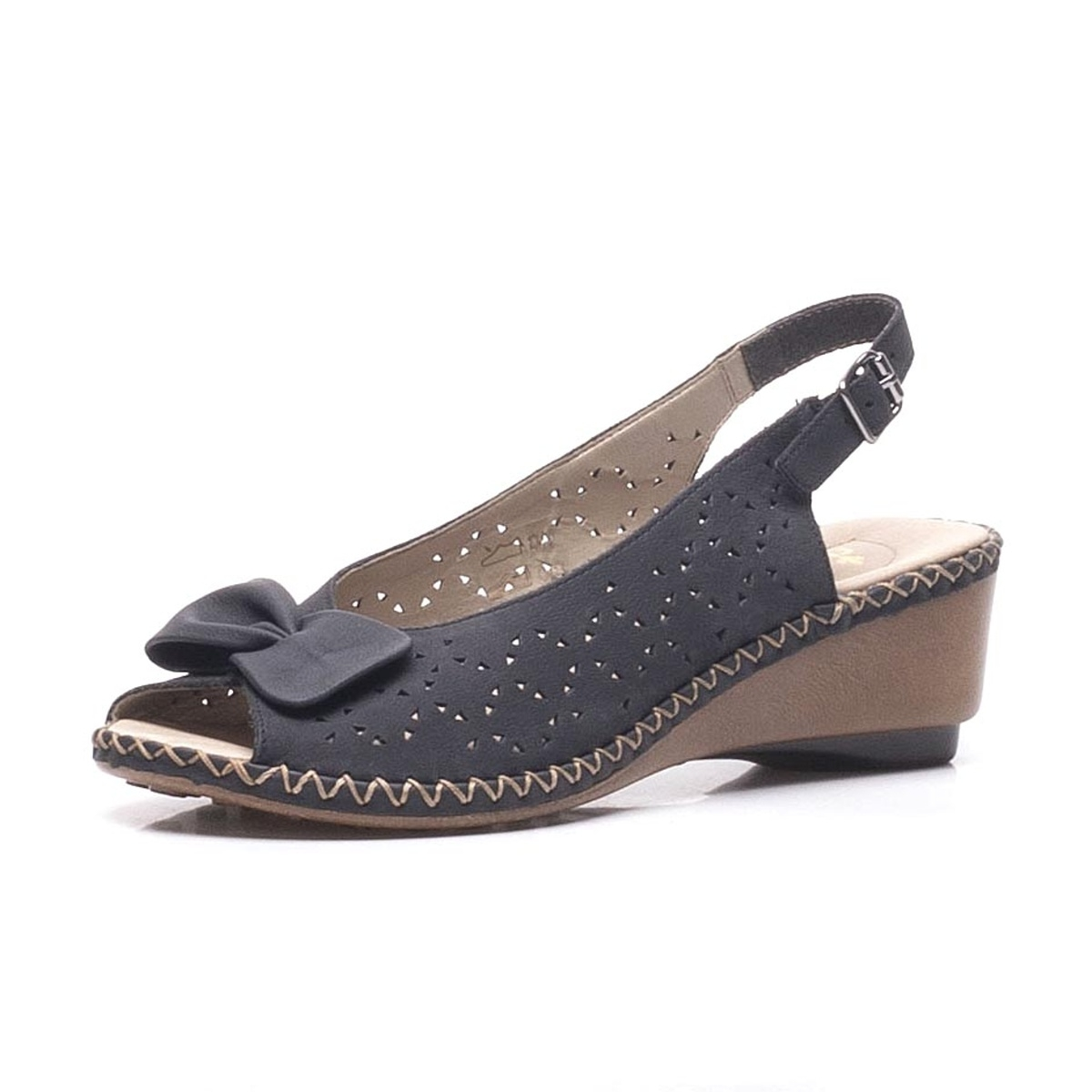 3272a229f5a4 detail Dámska obuv RIEKER br 66178-14 BLAU ...