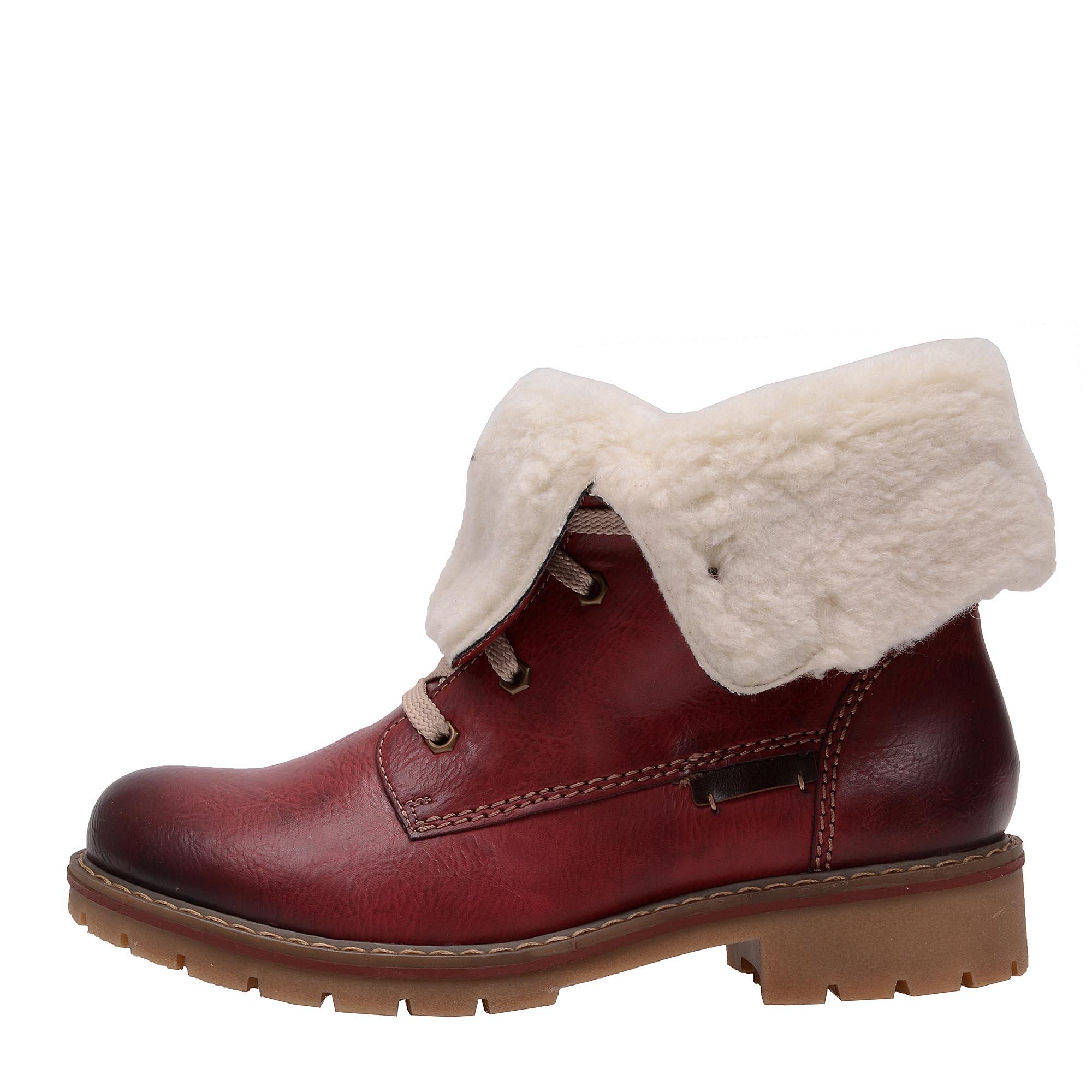 5c858836f4 detail Dámska obuv RIEKER Y9122 35 ROT KOMBI H W 7