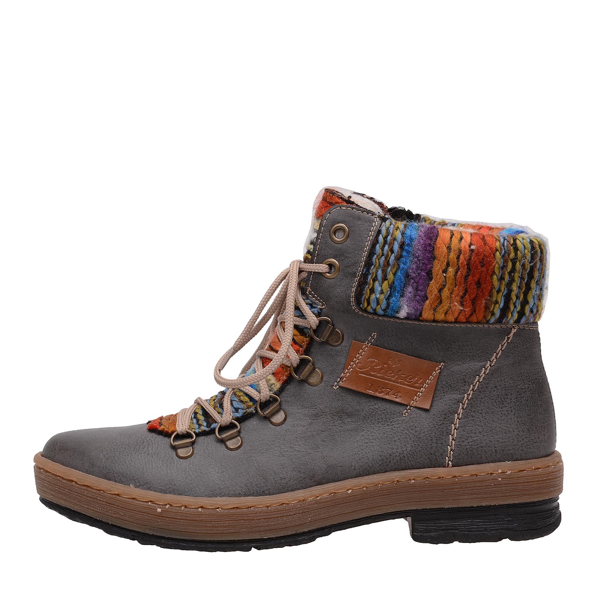 d15a9d80f9d18 Dámska obuv RIEKER Z6743/45 GRAU KOMBI H/W 7 | Rieker
