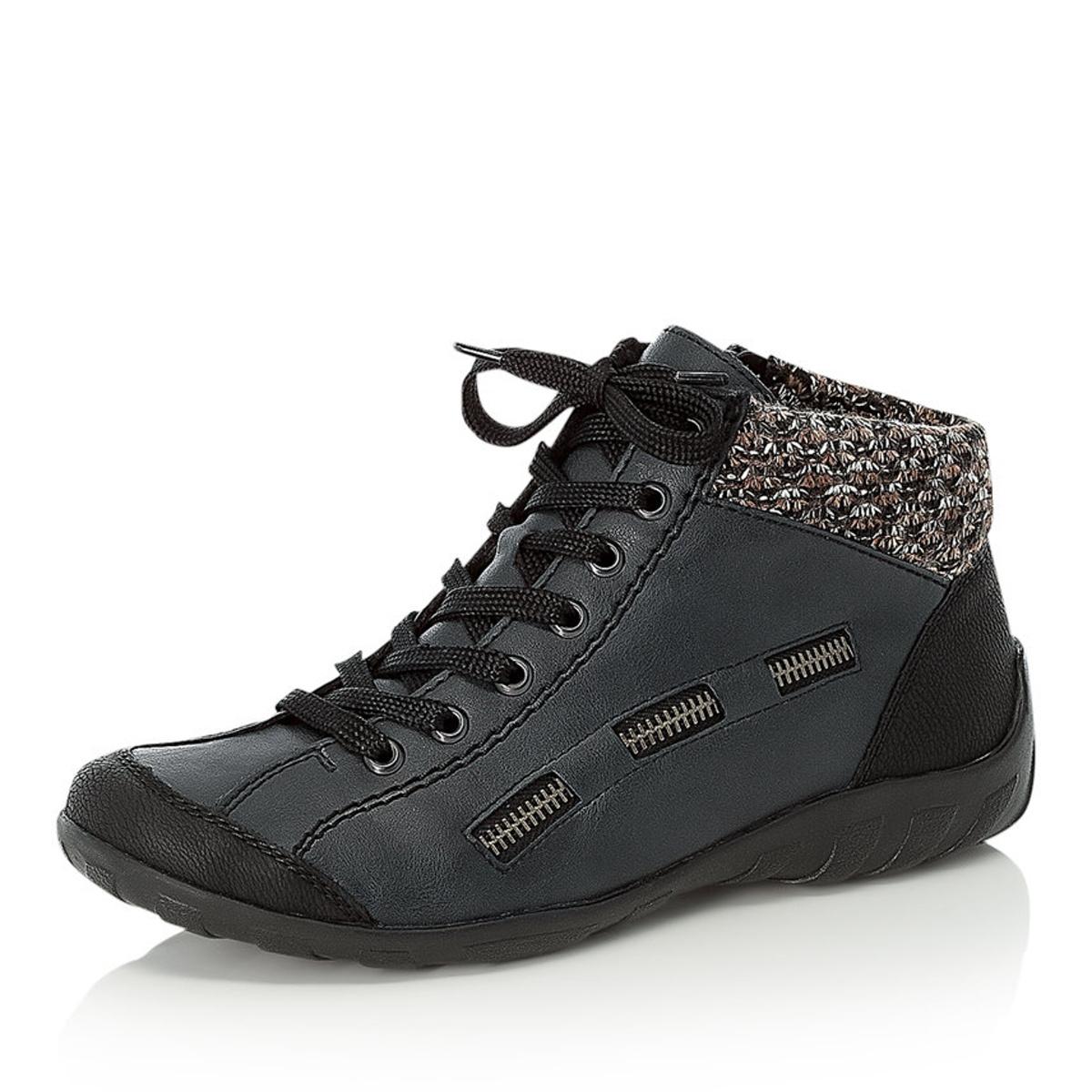 c3219e378d detail Dámska obuv RIEKER L6543 00 BLAU KOMBI H W 8