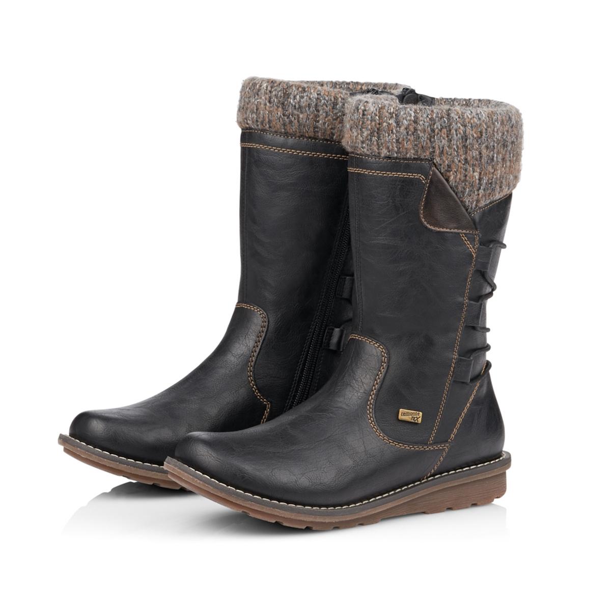 detail Dámska obuv RIEKER - REMONTE br R1094 02 SCHWARZ KOMBI H  4cb0321845e
