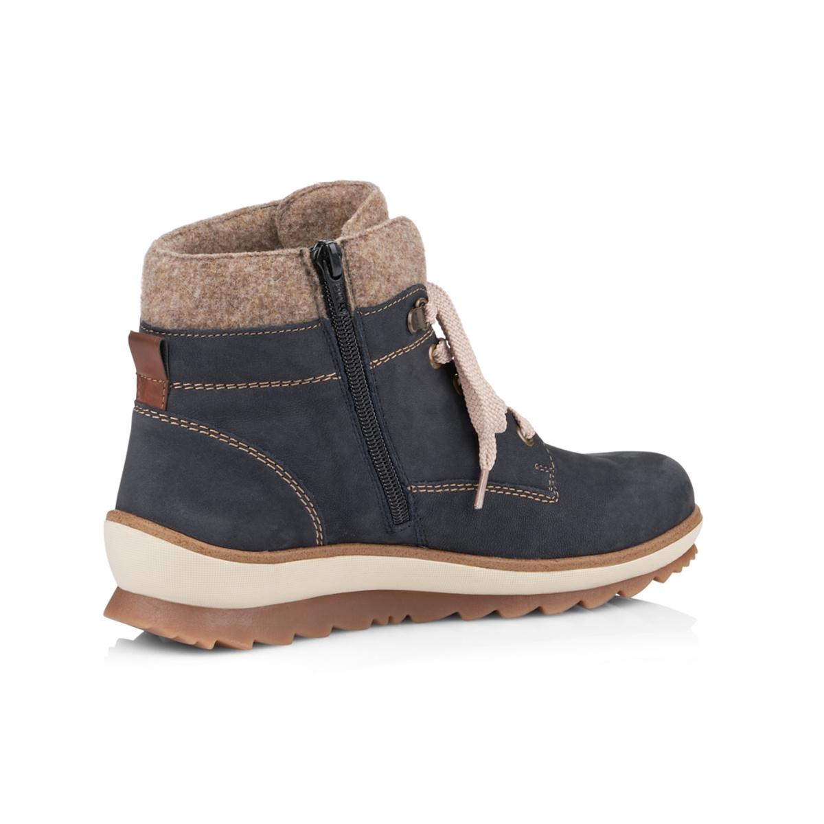 b25bc3c416 detail Dámska obuv RIEKER - REMONTE R4370 14 BLAU KOMBI H W 8
