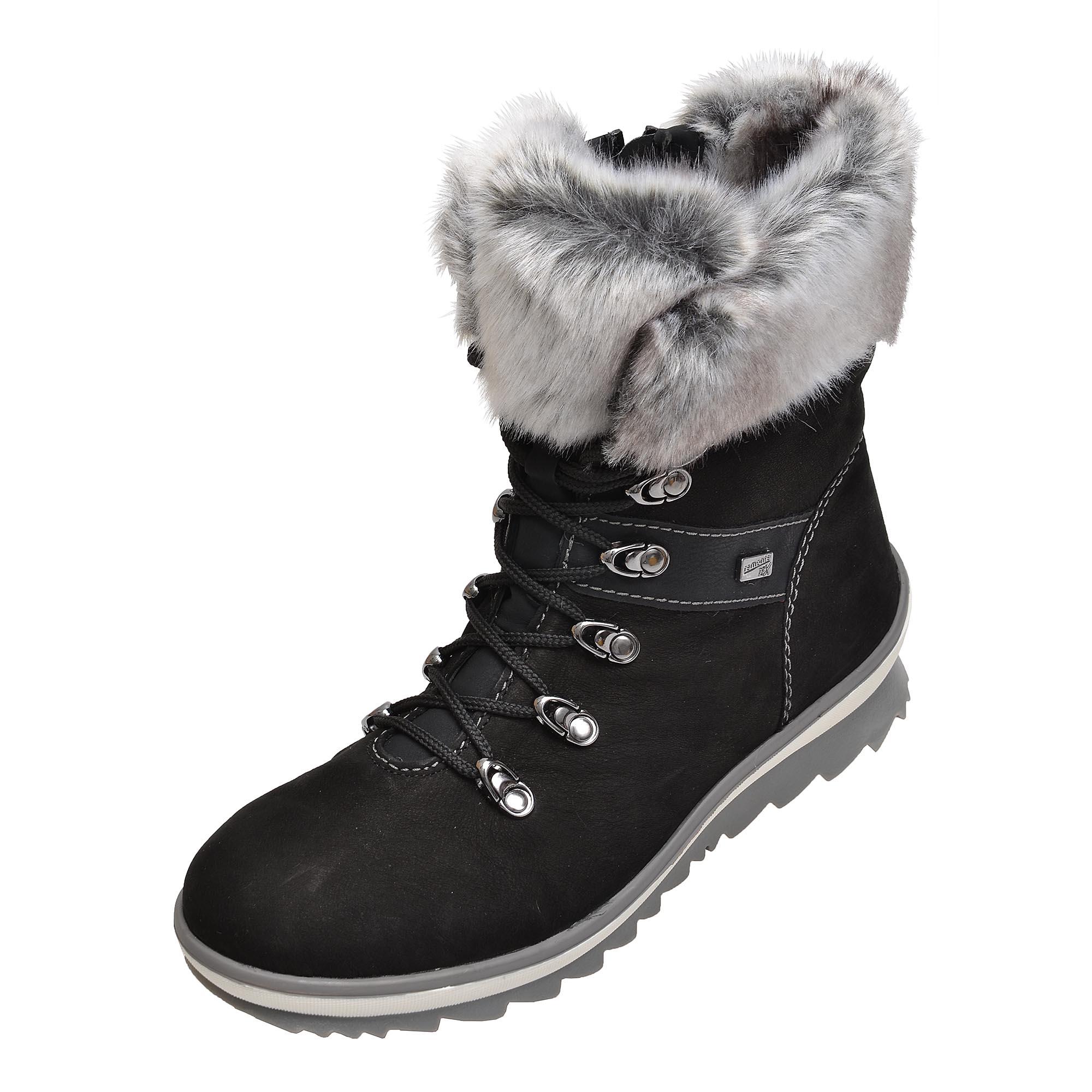 e1ffee94d7ef detail Dámska obuv RIEKER - REMONTE br R4382 02 SCHWARZ KOMBI H