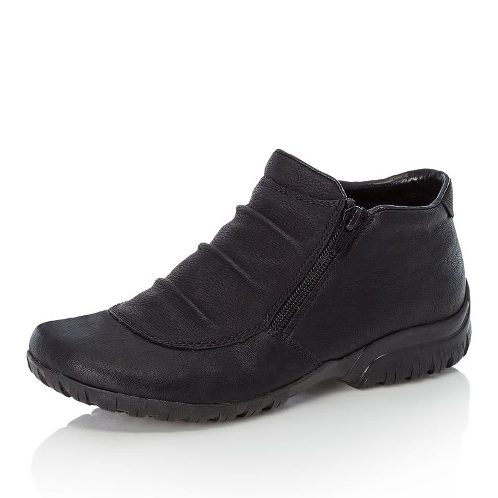 9eac2d04d Dámska obuv RIEKER L4691/01 SCHWARZ H/W 8   Rieker