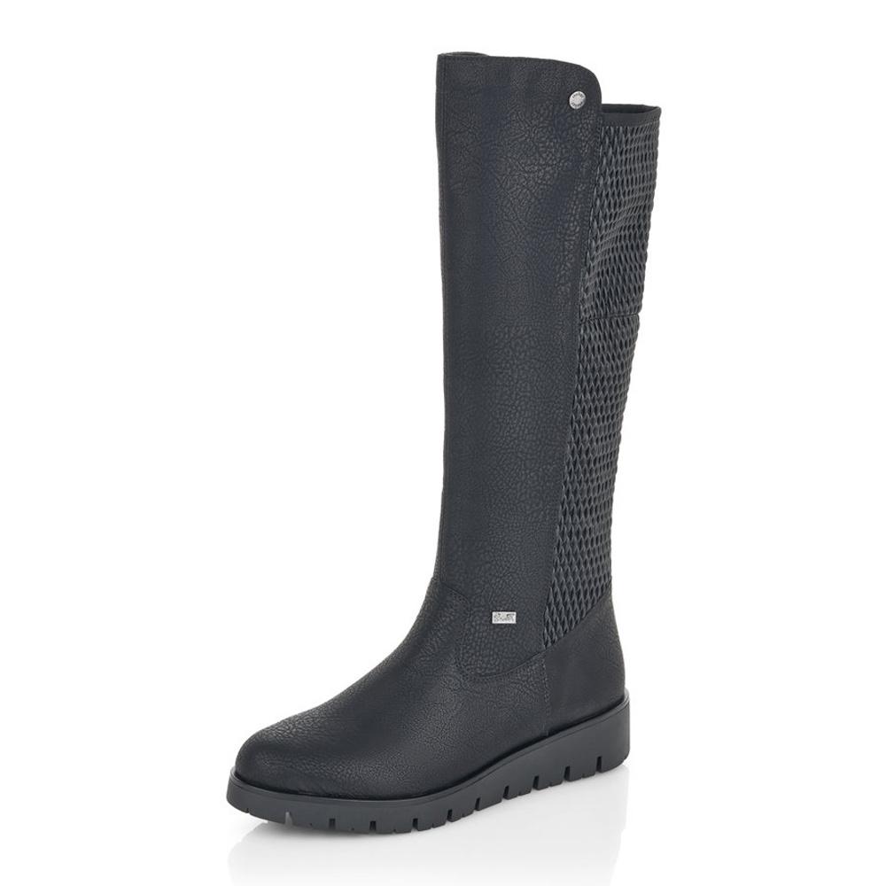 Dámska obuv RIEKERX2390 00 SCHWARZ H W 8  80a9e7d8476