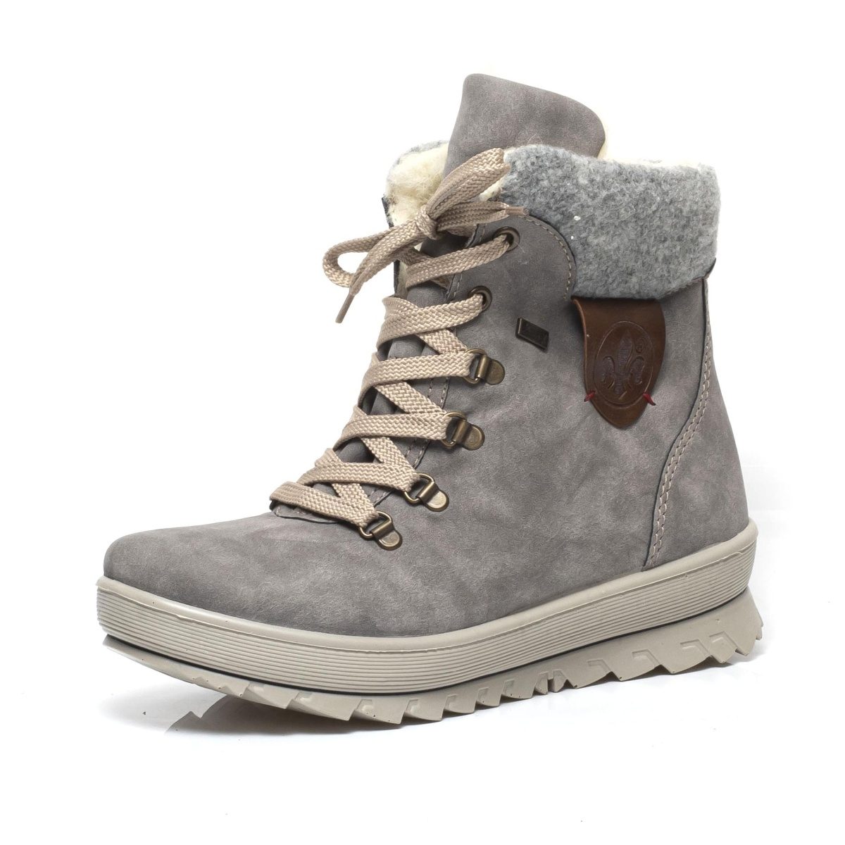 7fad864734 detail Dámska obuv RIEKER Y4331 40 GRAU KOMBI H W 8