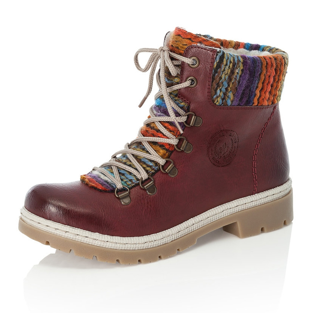 db6b07a415432 Dámska obuv RIEKER Y9432/35 ROT KOMBI H/W 8   Rieker
