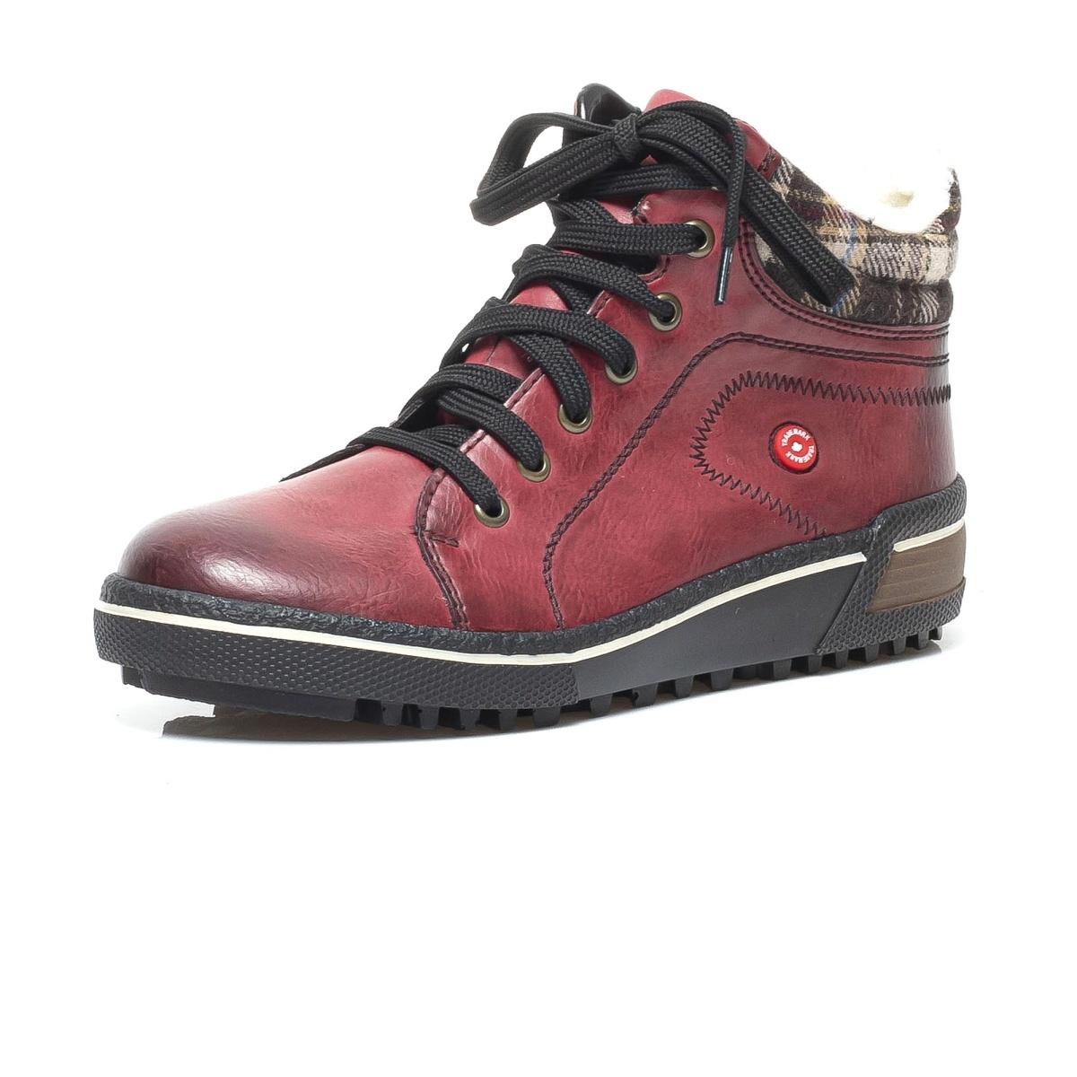 55b68d9d04 detail Dámska obuv RIEKER Z6423 35 ROT KOMBI H W 8