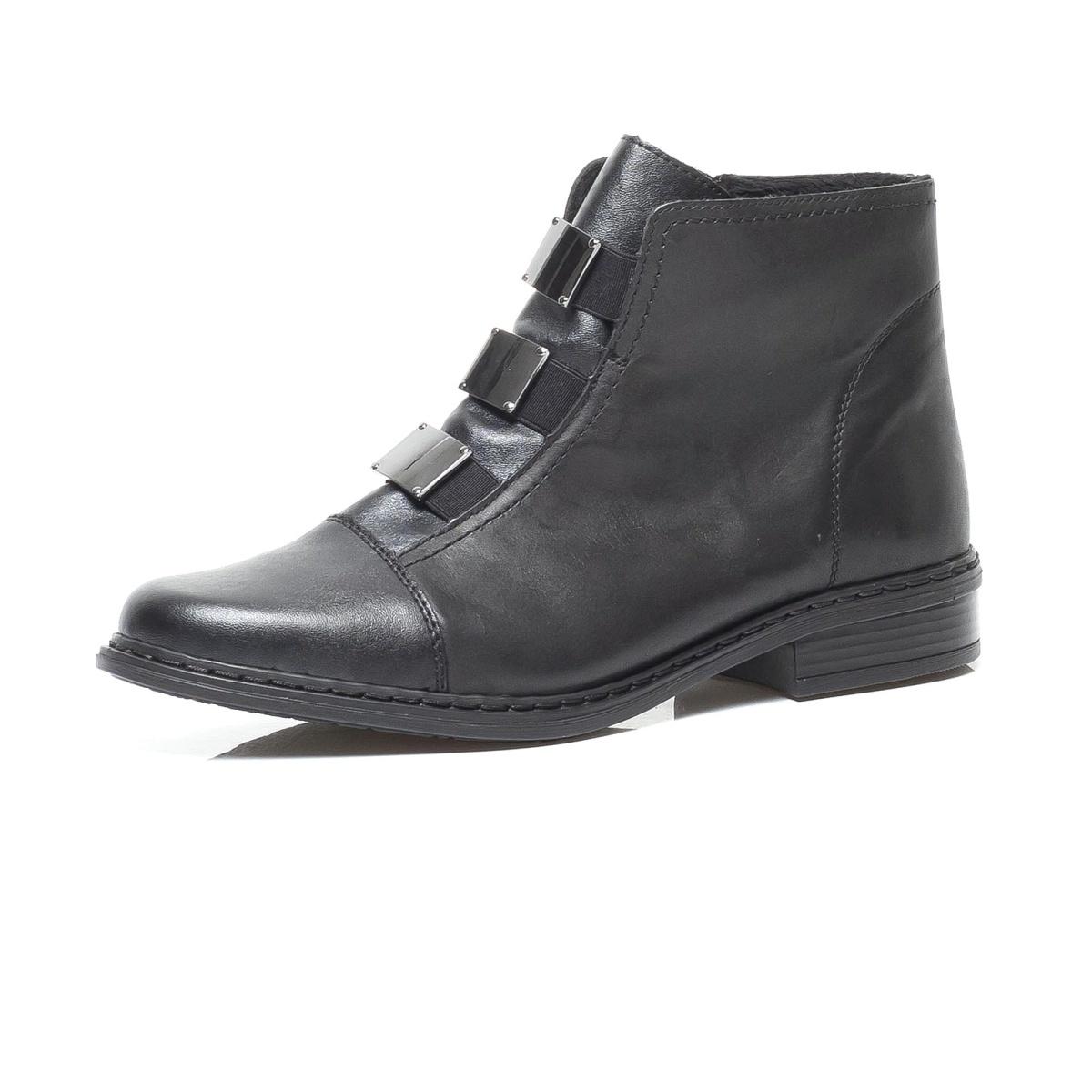 9123b2ee117e detail Dámska obuv RIEKER br 72082 00 SCHWARZ ...