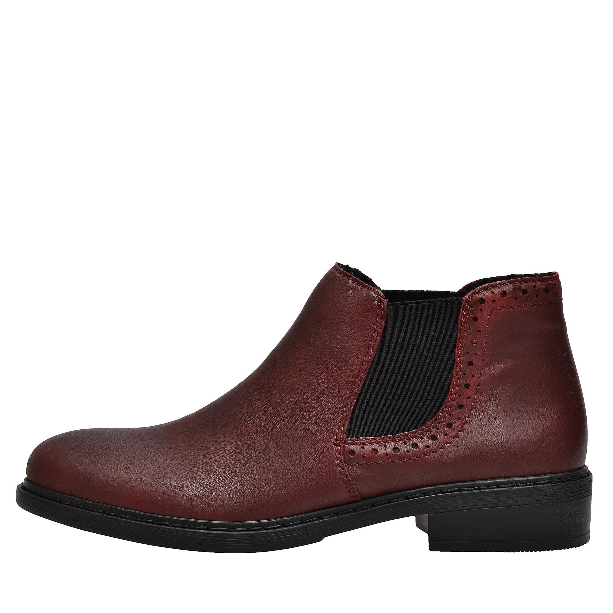 d99a133951 detail Dámska obuv RIEKER 77584 35 ROT H W 8