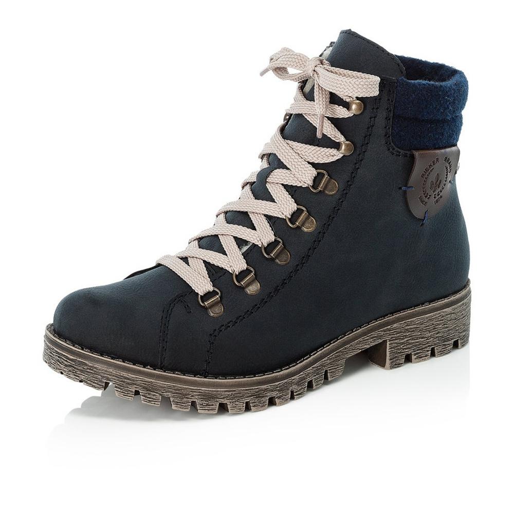 b8b6fe3c10e73 Dámska obuv RIEKER 785F8/14 BLAU KOMBI H/W 8 | Rieker