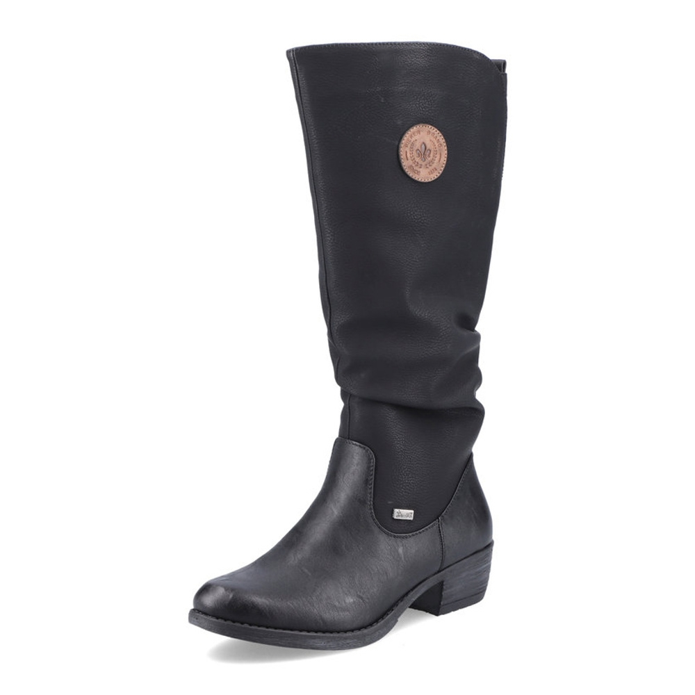 75cf1a9b5a detail Dámska obuv RIEKER 93157 00 SCHWARZ H W 8