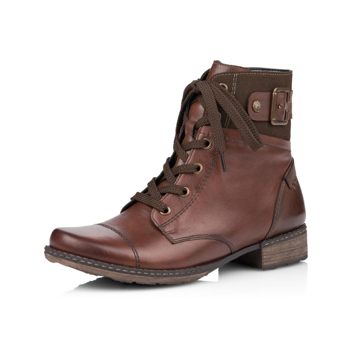 4b73c7ff7b004 Dámska obuv RIEKER D4368/25 BRAUN KOMBI H/W 8   Rieker