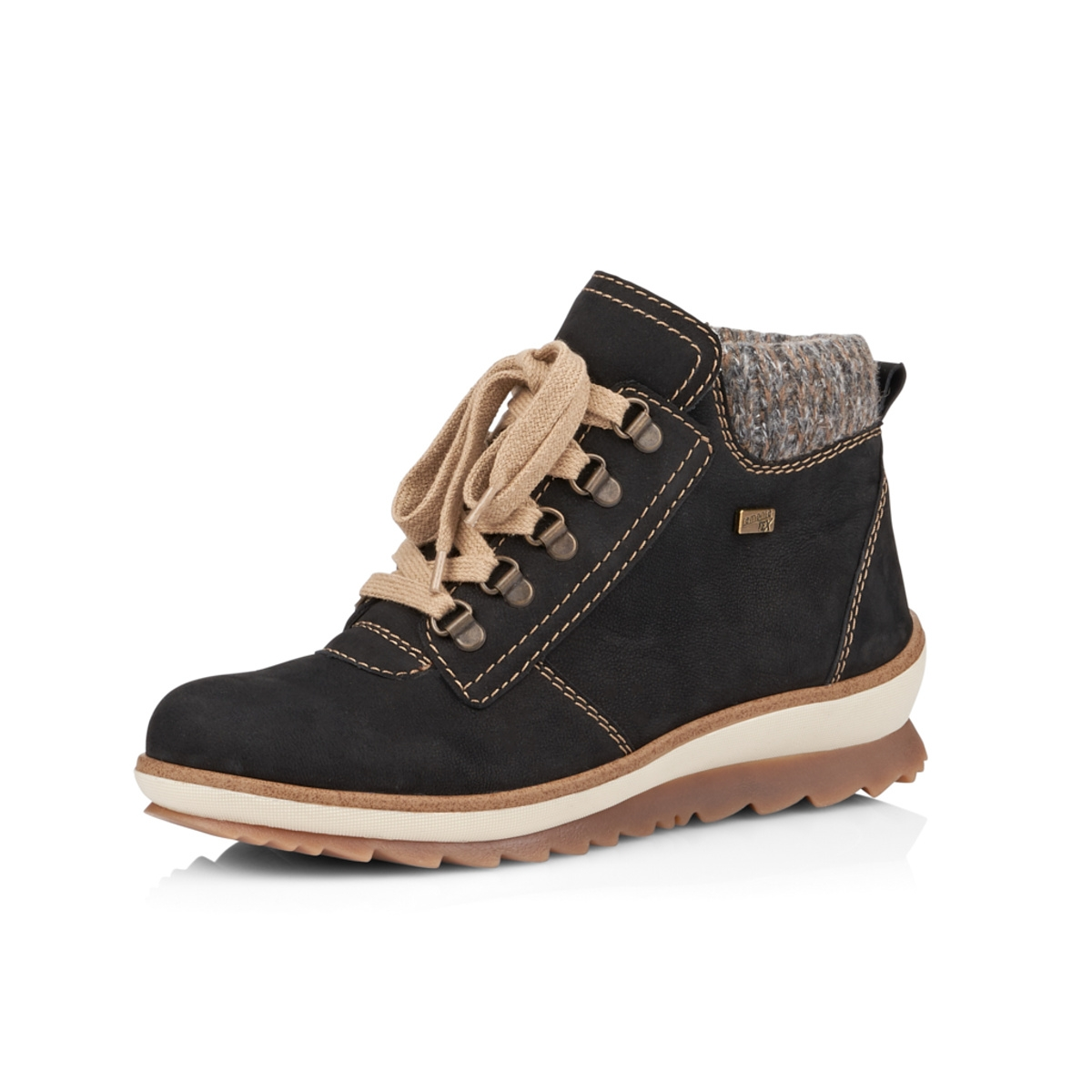 82aa6101b43a7 Dámska obuv REMONTE BY RIEKER R4378/02 SCHWARZ KOMBI H/W 8 | Rieker