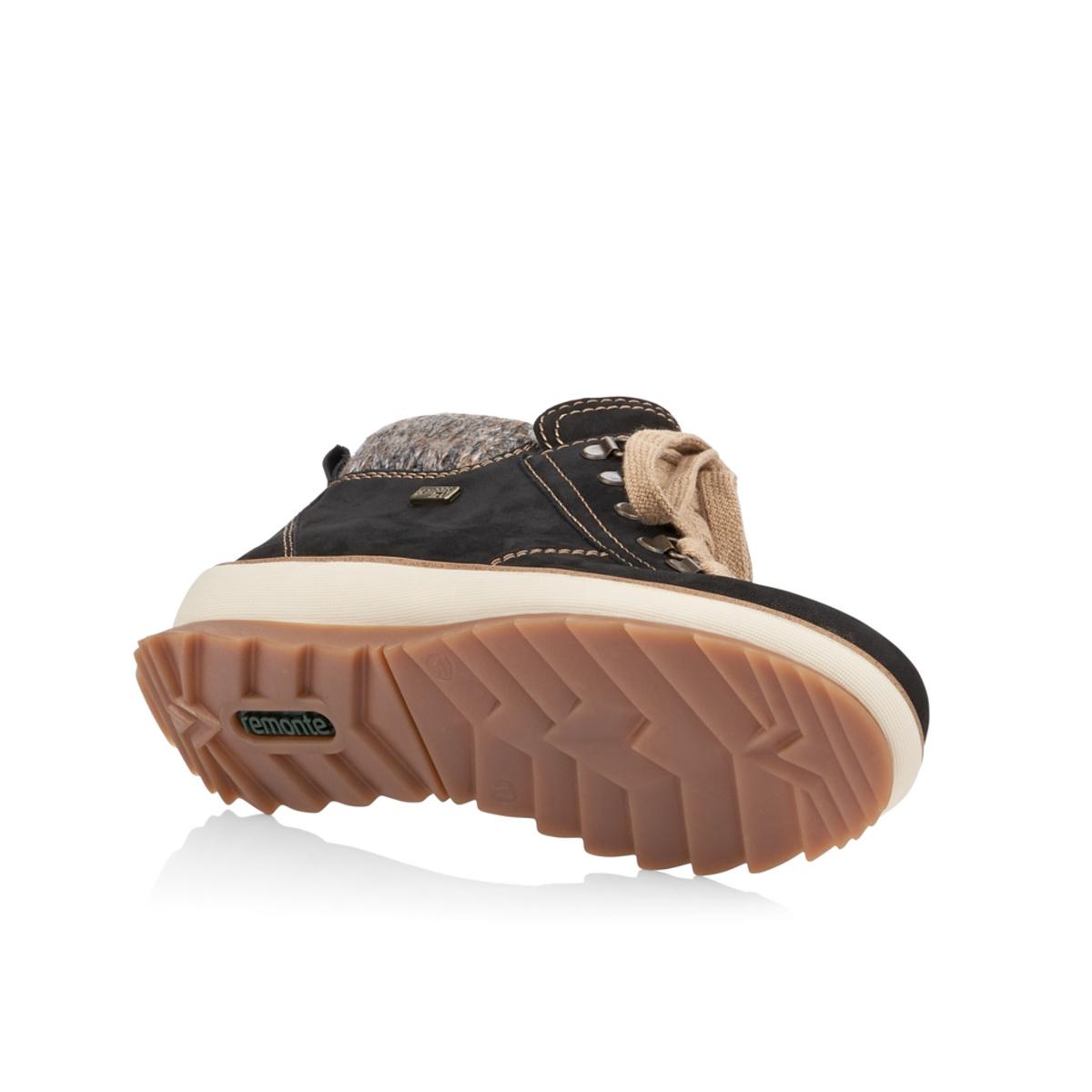 fa4c3d69ef detail Dámska obuv REMONTE BY RIEKER R4378 02 SCHWARZ KOMBI H W 8