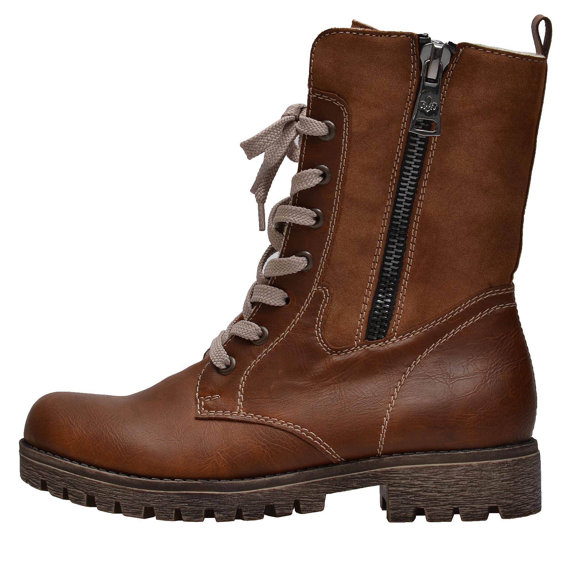 76d13b379 Dámska obuv RIEKER 785K1/25 BRAUN KOMBI H/W 8 | Rieker