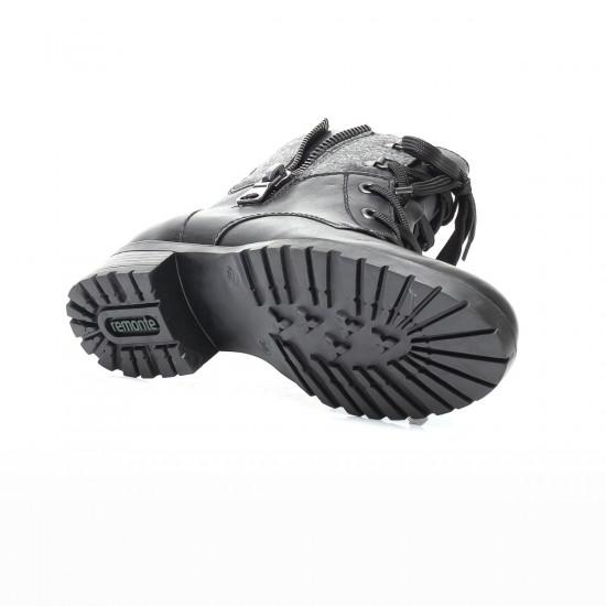 detail Dámska obuv RIEKER - REMONTE br D8278-01 SCHWARZ H W 1ea1c6581e3