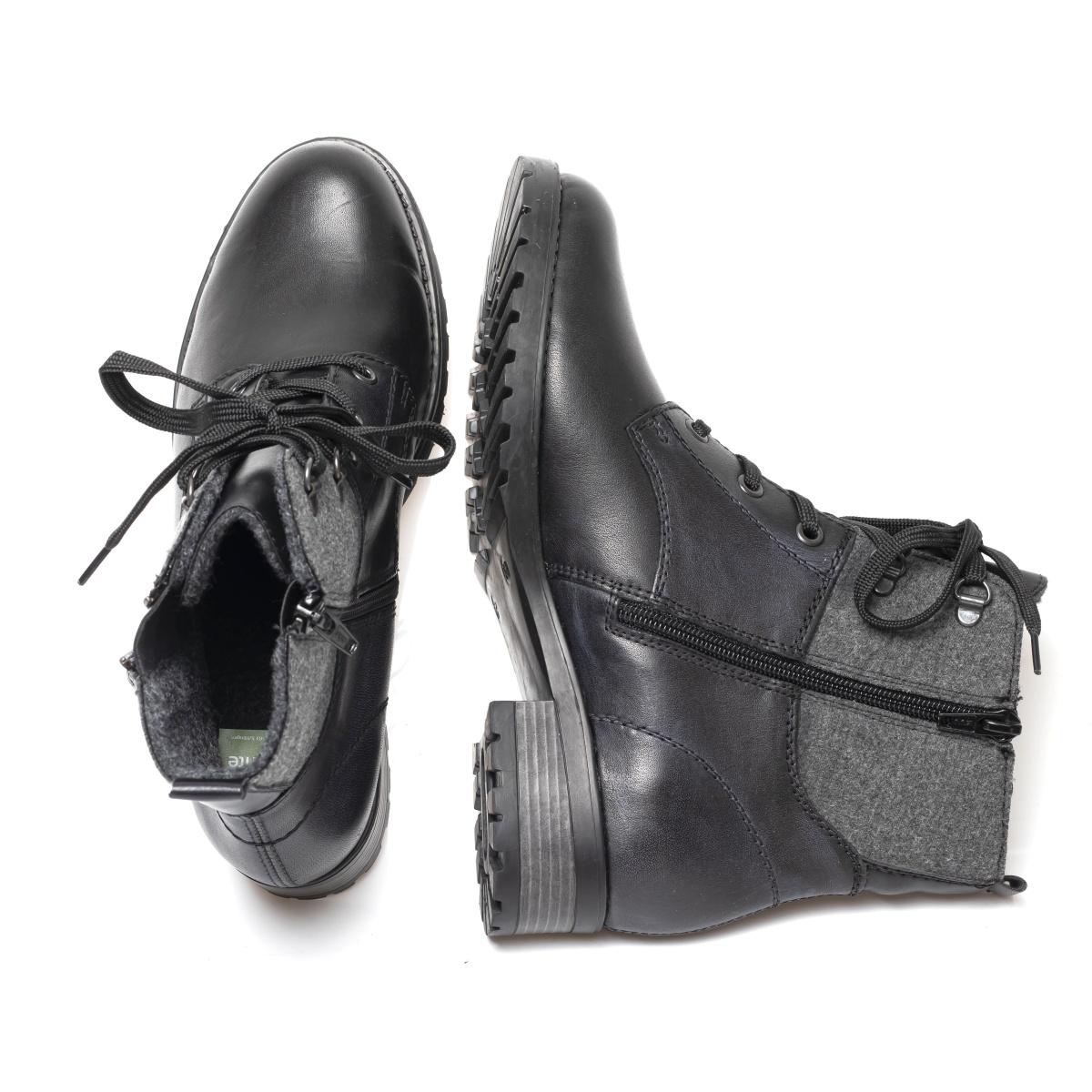 dd25b58207 detail Dámska obuv REMONTE BY RIEKER D8278-01 SCHWARZ H W 9