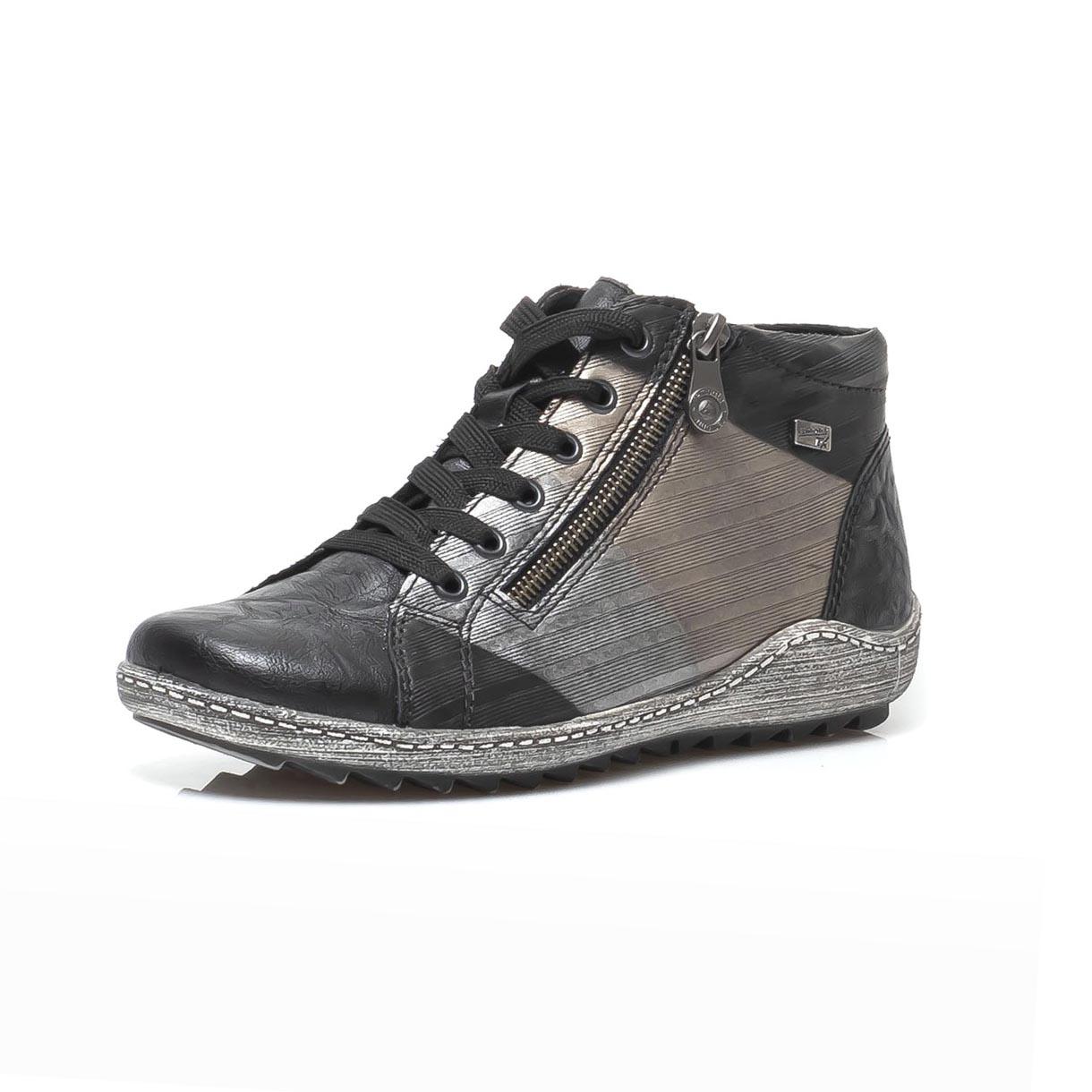 a4795929dd detail Dámska obuv RIEKER - REMONTE R1496-02 SCHWARZ H W 9